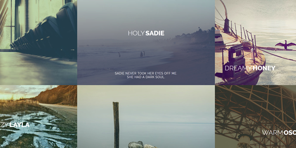 Beautiful CSS3 Image Hover Effects