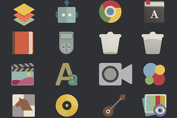 flat-icons-retro
