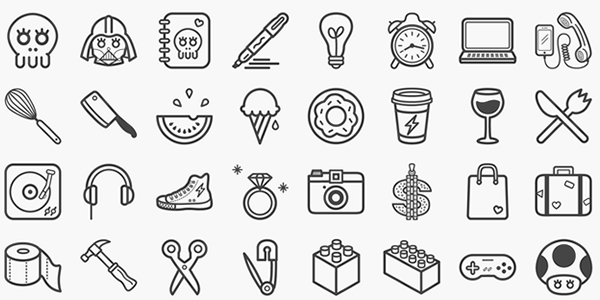 25 High Quality Free Flat Icon Sets