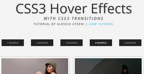 Beautiful CSS3 Image Hover Effects - Web Design Beat