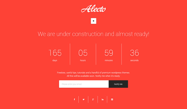 alecto-coming-soon-template