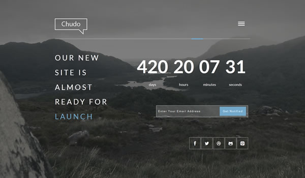 chudo-coming-soon-template
