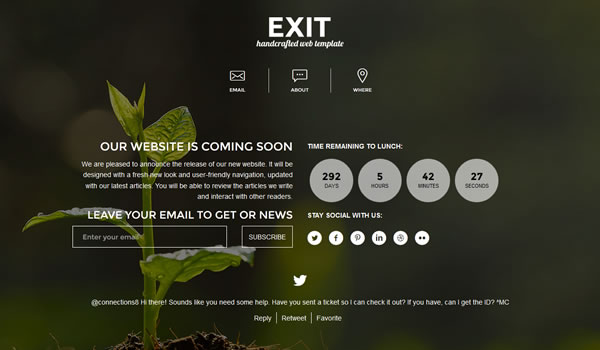 exit-coming-soon-template