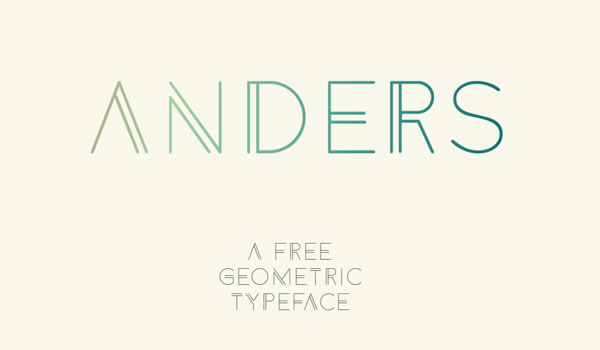 free-font-anders