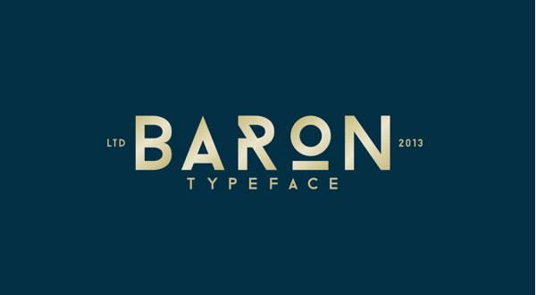 free-font-baron