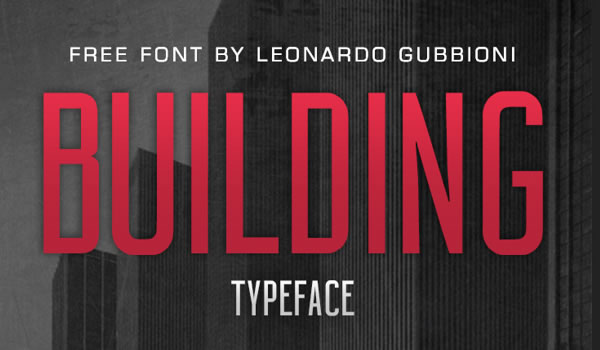 free-font-building