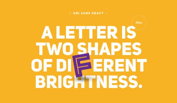 free-font-uni-sans