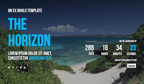 horizon-coming-soon-template