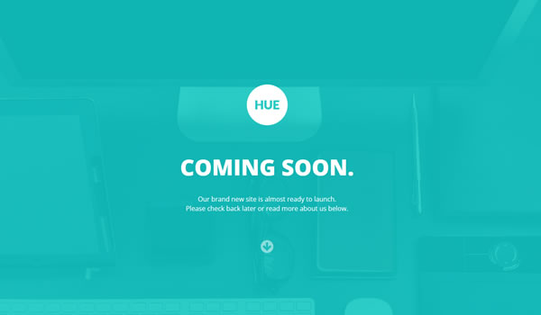 hue-coming-soon-template