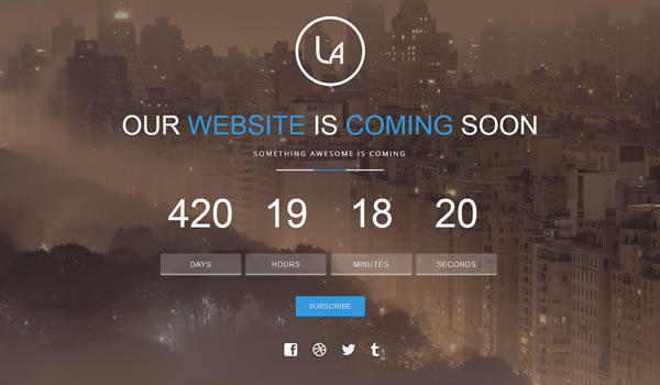 laxy-coming-soon-template