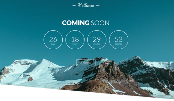 mellanie-coming-soon-template