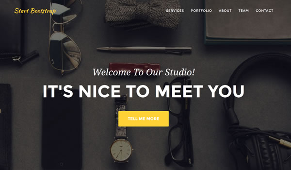 agency-free-bootstrap-template