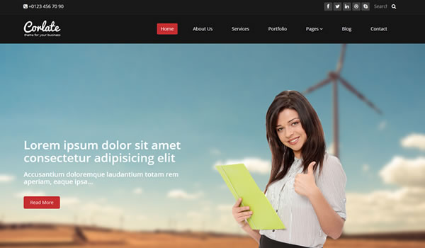 corlate-free-bootstrap-template