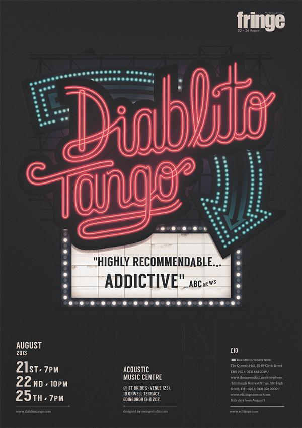 diablito-tango-typography-poster