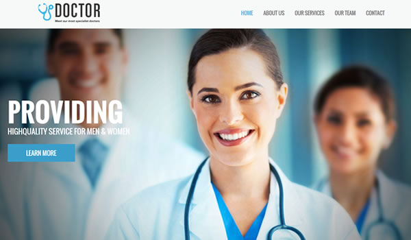 doctor-free-bootstrap-template