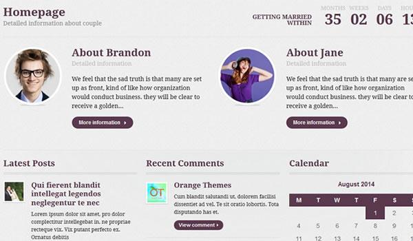 flores-wordpress-wedding-theme
