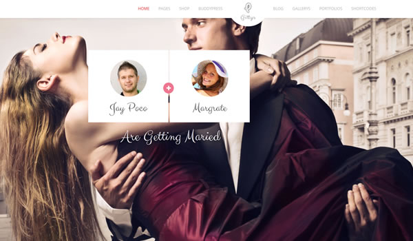 gittys-wordpress-wedding-theme