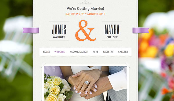just-married-wordpress-wedding-theme