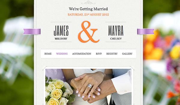 just-married-wordpress-wedding-theme