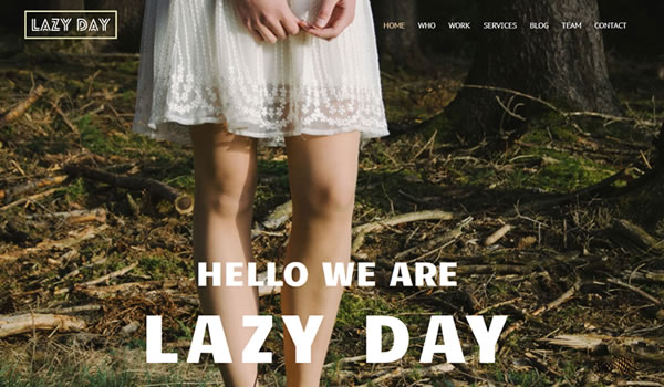 lazy-day-free-bootstrap-template