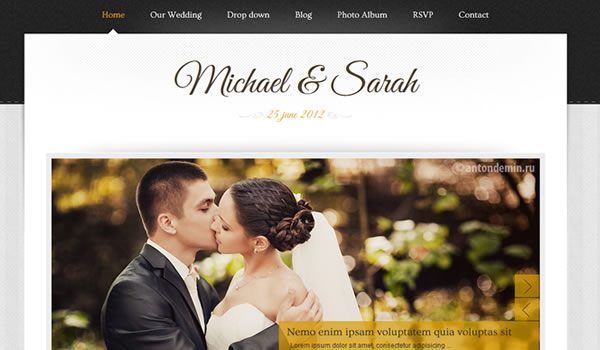 marriage-wordpress-theme