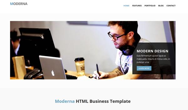 moderna-free-bootstrap-template