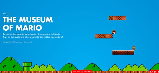 museum-of-mario-website-design