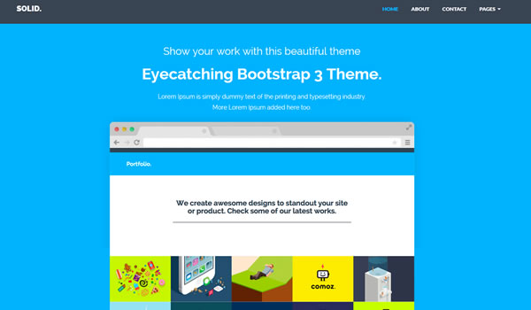 solid-free-bootstrap-template