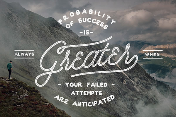 success-lettering-poster