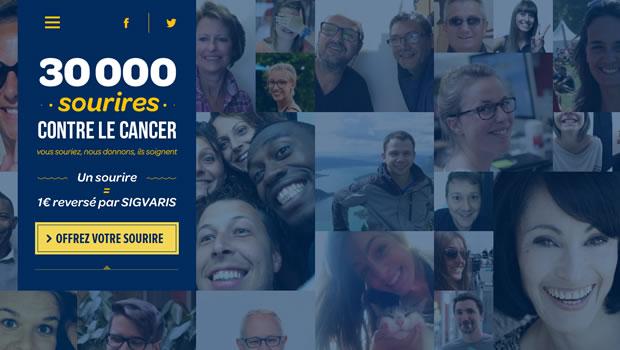30000sourires-website-design