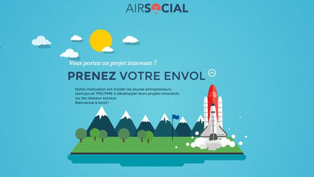 air-social-website-design