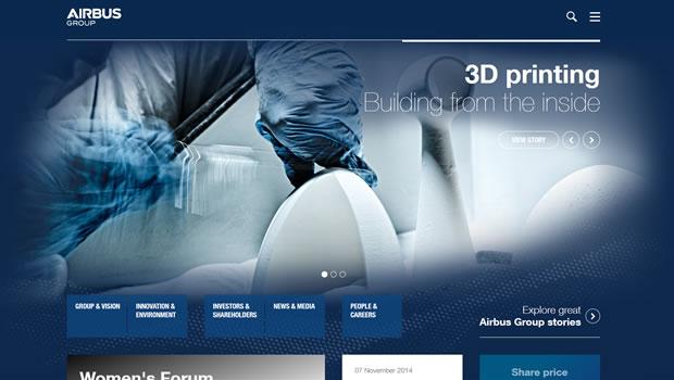 airbus-group-website-design