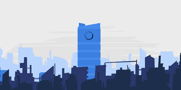 Blue Color Spectrum in Website Designs