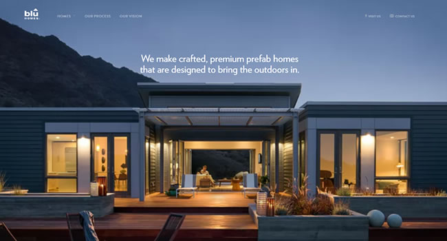 bluhomes-website-design