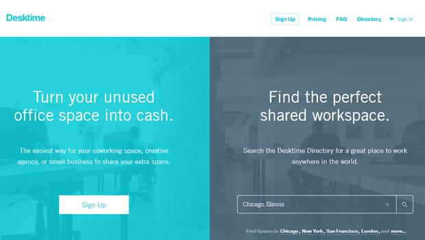 desktime-website-design