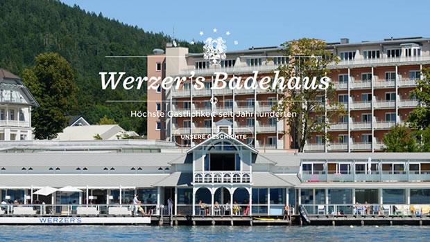 werzersbadehaus-website-design