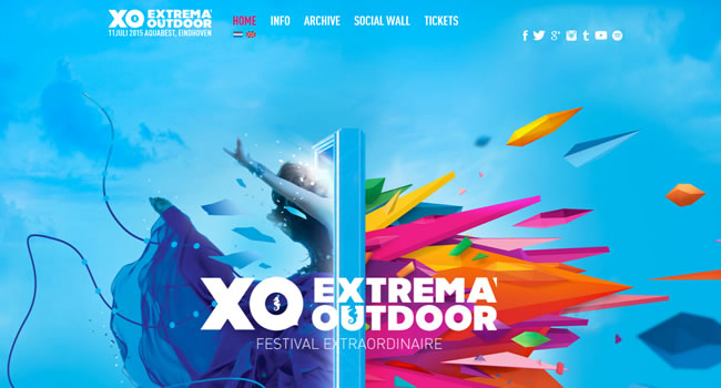 xofestival-website-design