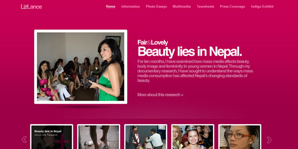 liz-lance-message-website-design