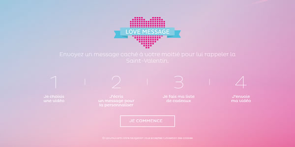 love-message-website-design