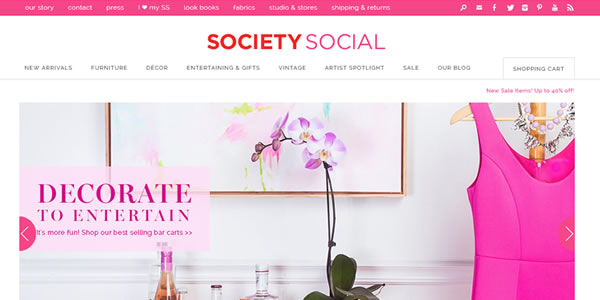 society-social-message-website-design