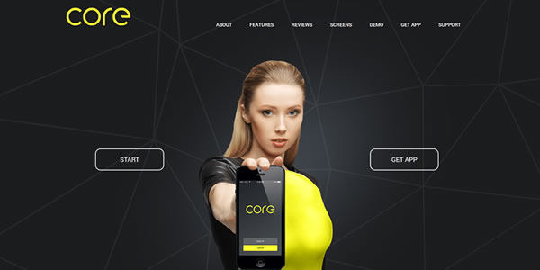core-bootstrap-landing-page