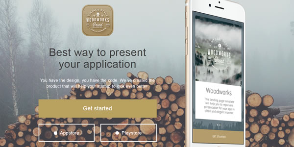 woodworks-bootstrap-landing-page