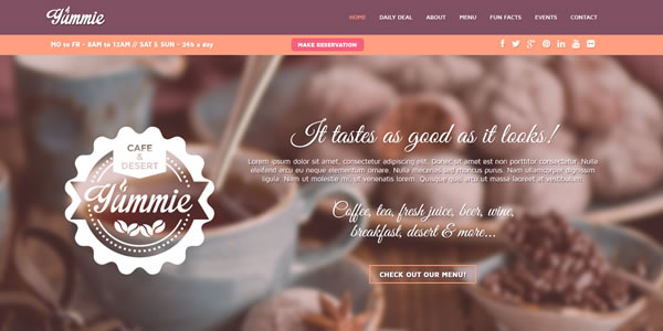 yummie-bootstrap-landing-page