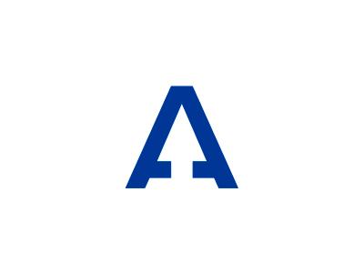 a-letter-negative-space-logo