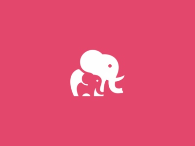 elephants_dribbble-negative-space-logo