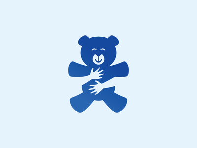 teddybear-negative-space-logo
