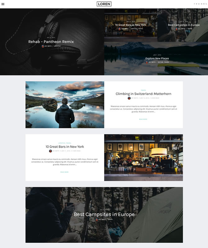 loren-wordpress-theme
